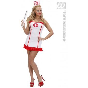 Item:Sexy Verpleegster Wit In Lycra