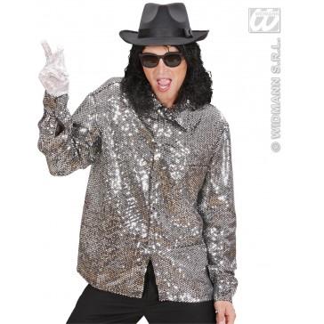 Item:Pailletten Shirt Zilver
