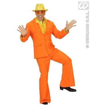 Item:Party Kostuum Heer, Neon Oranje