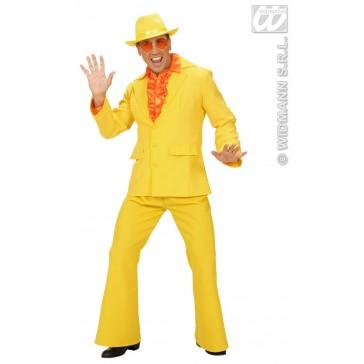 Item:Party Kostuum Heer, Neon Geel