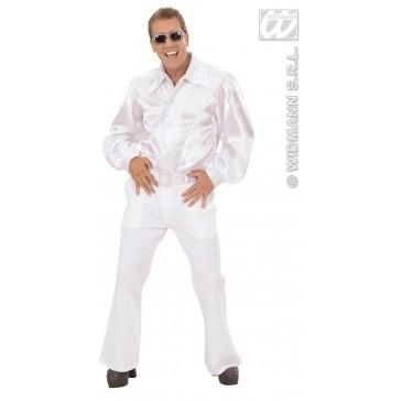 Item:Wit Shirt Pailletten Man Met Riem