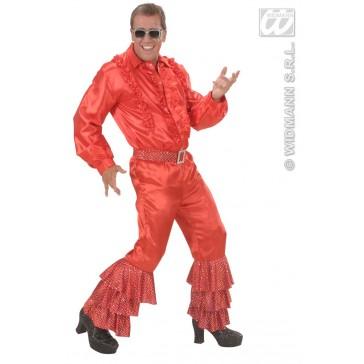 Item:Rode Broek Fluweel Met Pailletten Man