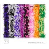 boa, 2-kleurig lila/paars 180cm