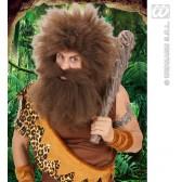 baard holbewoner, bruin