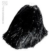 pom pom, luxe uitvoering zwart