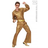riem goud glitter