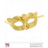 oogmasker metalic goud