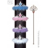 set met tiara en scepter