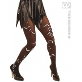 panty zwart met vleermuizen xl