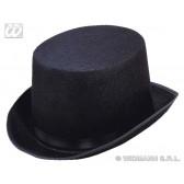 hoge hoed vilt, zwart