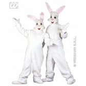 kostuum konijn in pluche