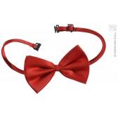 luxe verstelbaar strikje, rood