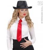 stropdas rood satijn