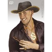 cowboyhoed in lederlook