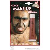 tube make-up, bruin