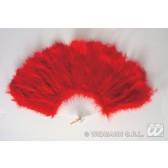 veren waaier rood