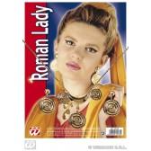 romeinse set (ketting met oorbellen)