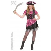 Piratenmeisje Luxe kostuum