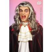 pruik, vampier (in plastic zak)