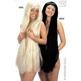 pruik, extra lang blond, 100cm, (in plastic zak)