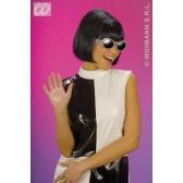 pruik, 60's party girl (in plastic zak)