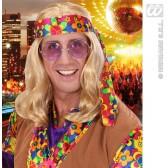 pruik, hippie (lennon) blond