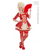 Koningin barok rood
