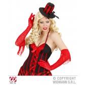 rode handschoenen kant met franjes