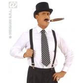 retro stropdas met stippen