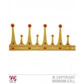maxi glitter kroon met stenen, buigbaar