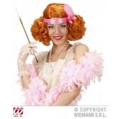 pruik burlesque rood