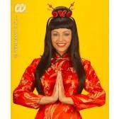 pruik, china girl (in plastic doos)