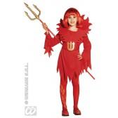 Kleine Duivelin kind kostuum