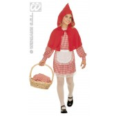 Roodkapje kind kostuum