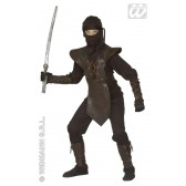 Zwarte Ninja  kind kostuum