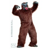 Bruine beer grizzlybeer kostuum