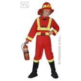 Brandweerman, Verlicht  kind kostuum