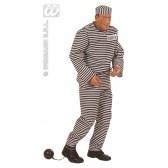 Gevangene boef man