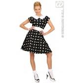 Jurk 50's Met Petticoat, Zwart