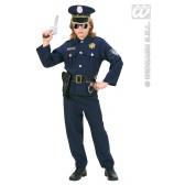 Politie kind kostuum