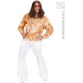 70's Mode Shirt In 3 Dessins/kleuren DISCO