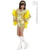 70's Mode Meisje Met Hoofdband In 3 Kleuren DISCO
