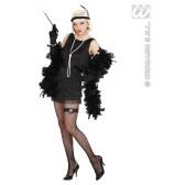 Luxe Flapper Zwart