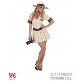 Safari kostuum vrouw