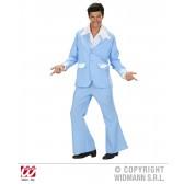 John Travolta pak lichtblauw