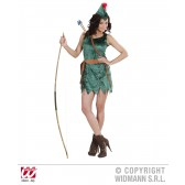 Robin Hood dames kostuum