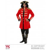 Piraten kapiteinskostuum Rood