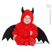 Duivel pluche kind kostuum