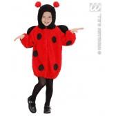 Lieveheersbeesje 104 cm 2-3 jaar kind kostuum