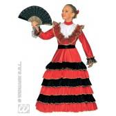 Senorita Spaanse kind kostuum